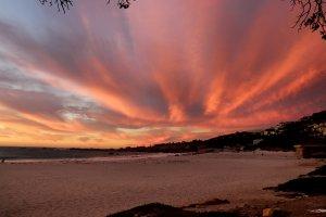 Couché de soleil à Capetown