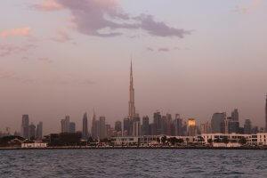Vue de la ville à Dubaï