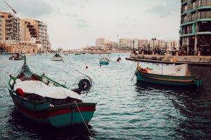 Barque de pêcheur à Malte