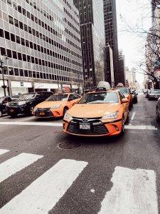 Taxi à New-York
